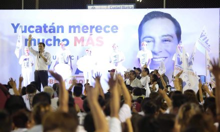 """""""Dignificar y mejorar policía yucateca para que sean los mejores de toda Latinoamérica"""": Vila Dosal"""