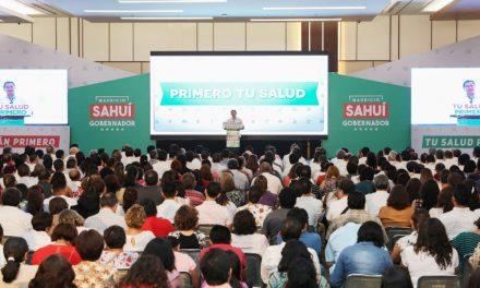 Modelo responsable para cuidar la salud: Sahuí