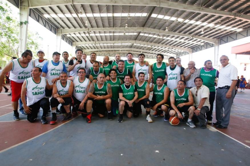 Apuesta decidida al deporte: Sahuí