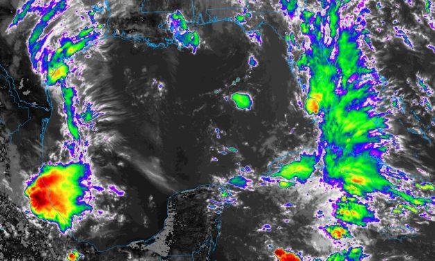Pronóstico de mayor potencial de lluvias, con calor, en Península de Yucatán
