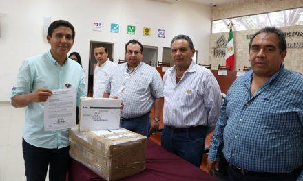 Adrián Gorocica y otros independientes recibieron listados nominales de electores