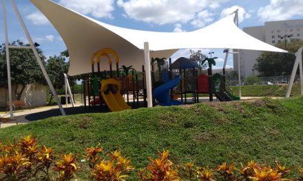 Llevarán 20 nuevos parques a municipios yucatecos