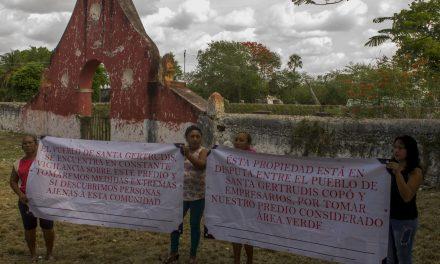Santa Gertrudis Copó denuncia invasión y defiende espacios comunitarios
