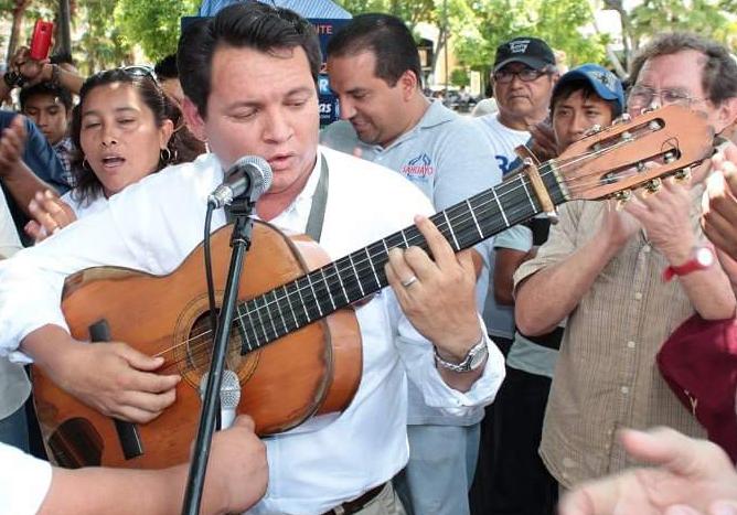 Huacho Díaz Mena activará eventos culturales en todo el estado