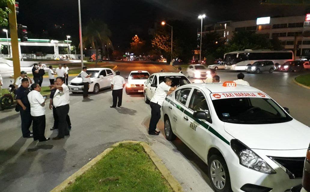 Inconforma a taxistas apertura a plataformas digitales en Quintana Roo