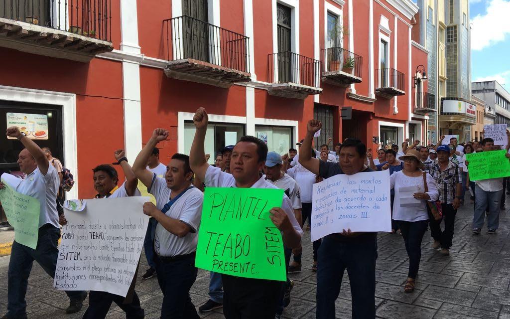 Renunciarán al SNTE-Yucatán y se pasarán a sindicato independiente