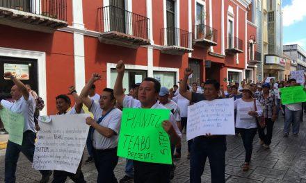 Protestan y piden cumplimiento a homologación en Cobay
