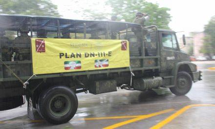 Baja presión acarrea lluvias a Caribe Mexicano; Cancún, mojado