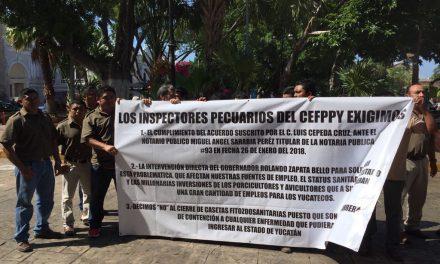 Prolongan riesgo a cerco sanitario de Yucatán por lío laboral