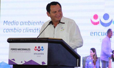 Yucatán será privilegiado en proyectos de medio ambiente: Huacho