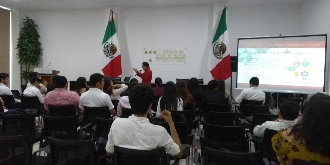 Mirada juvenil al trabajo legislativo en Yucatán