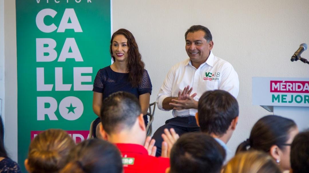 Víctor Caballero propone posicionar a Mérida como la capital del emprendimiento