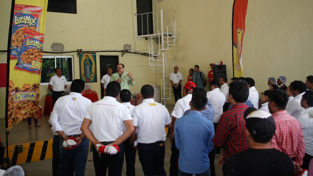 Ramírez Marín recibe el respaldo de más trabajadores