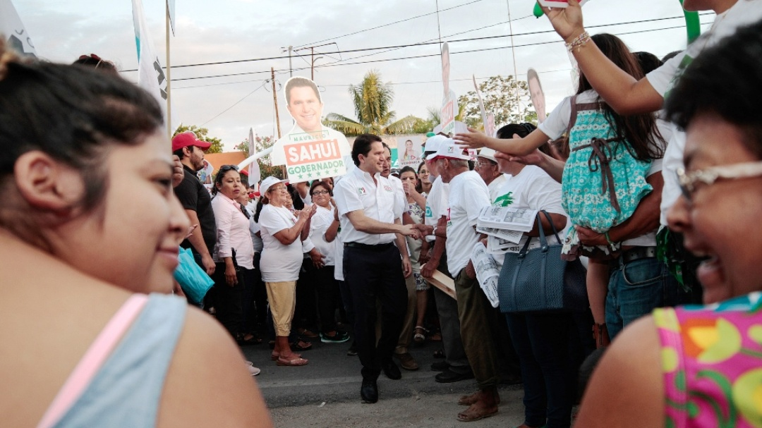 Listos para servir a Yucatán: Sahuí