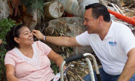 Renán Barrera: Vamos a terminar con el rezago social