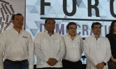 Contrastanpropuestas candidatos a la Alcaldía de Mérida