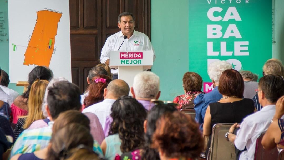 Consolidar a Mérida como una verdadera ciudad cultural, propone Víctor Caballero