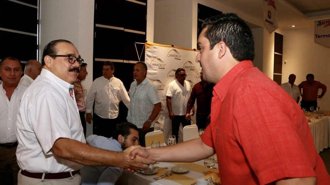 Ramírez Marín ofreceapoyo en gestión de fondos internacionales para el desarrollo de Yucatán