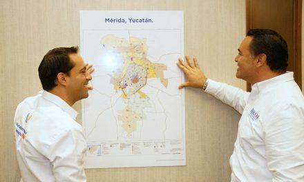 Vamos por desafío de pavimentar todas las calles adentro del Periférico.- Vila y Barrera