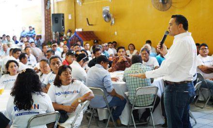 Mérida contará con servicios públicos de máxima calidad.- Renán Barrera