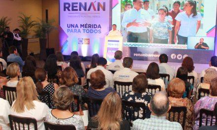 Renán Barrera: trabajaremos para ser una ciudad donde todos nos sintamos incluidos