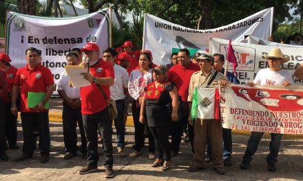 Marchan por Día del Trabajo y proclaman proyecto electoral