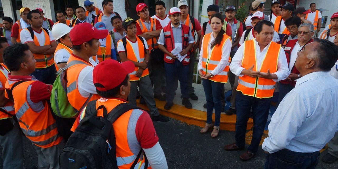 Mejora en infraestructura para un crecimiento parejo: Díaz Mena