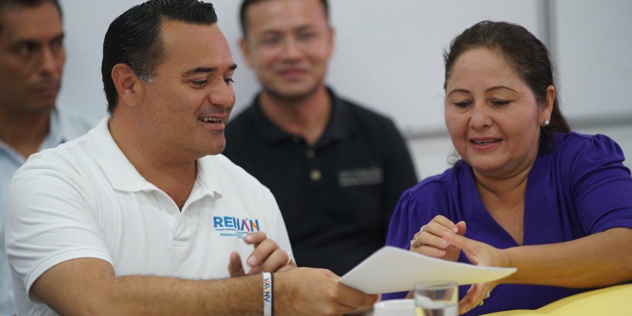 Seremos aliados de las asociaciones: Renán Barrera