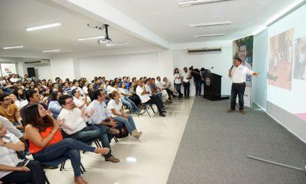 Vamos a incrementar la seguridad en Mérida: Renán Barrera