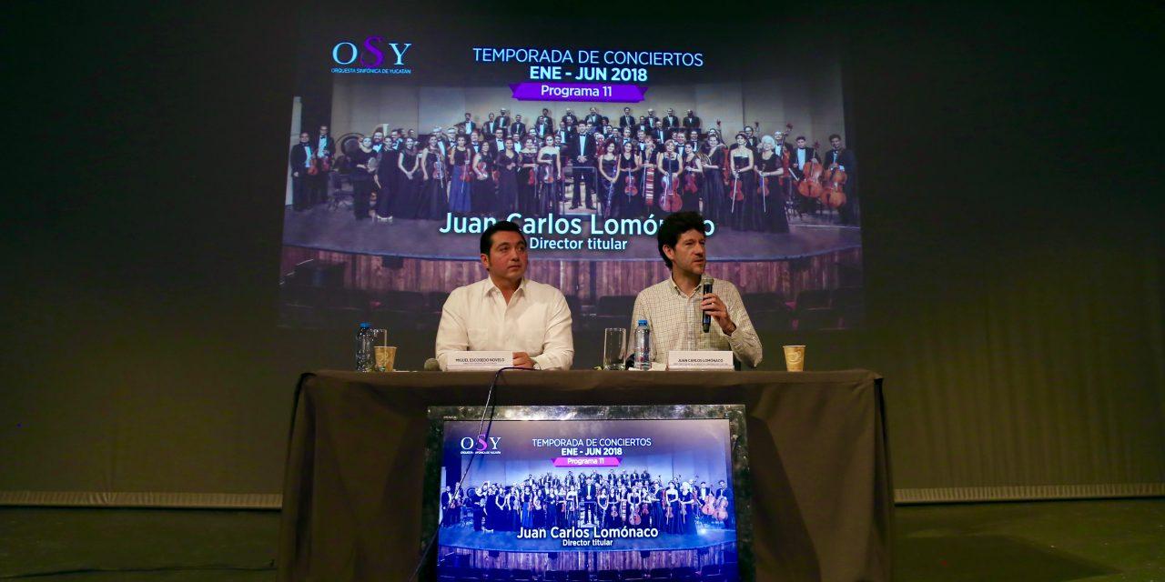 Por primera vez en Yucatán Séptima Sinfonía de Bruckner