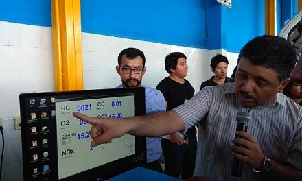 A control de emisiones flotilla vehicular del municipio de Mérida