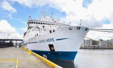 """""""Logos Hope"""", barco-biblioteca más grande del mundo, estará en Yucatán"""