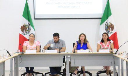 En comisiones, iniciativa sobre nueva Ley de AsentamientosHumanos en Yucatán