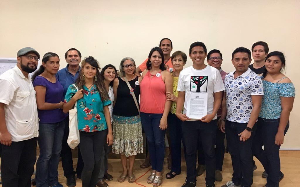 Adrián Gorocica firma Agenda de Compromisos por la Sostenibilidad en Yucatán