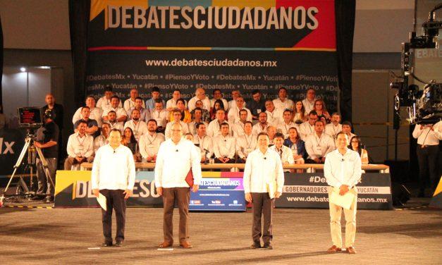 7 momentos que destacaron en #debateciudadano en Yucatán (video)