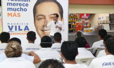 """""""Delincuentes, con Yucatán no se pueden meter"""": Vila Dosal"""