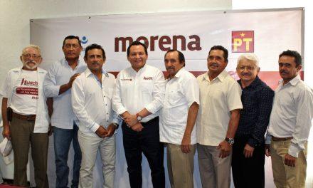 Ex Alcaldes se suman al proyecto de Huacho en Yucatán