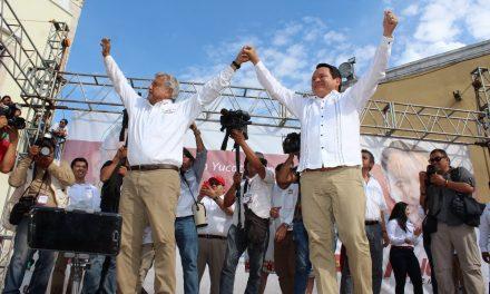 AMLO y Huacho listos para transformar México y Yucatán