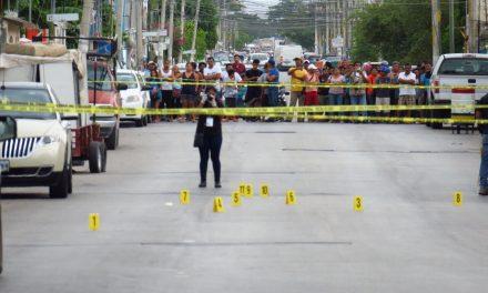 Sin misericordia: acribillan a pareja en Cancún