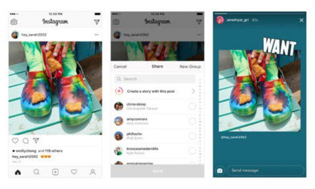 Ya puedes usar 'posts' de otros en tus historias de Instagram
