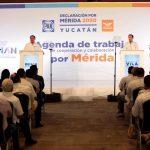 Presentan la Agenda de trabajo de cooperación y colaboración por Mérida