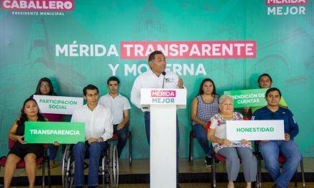 Mérida Mejor, transparente y moderna, de la mano de los ciudadanos: Víctor Caballero Durán