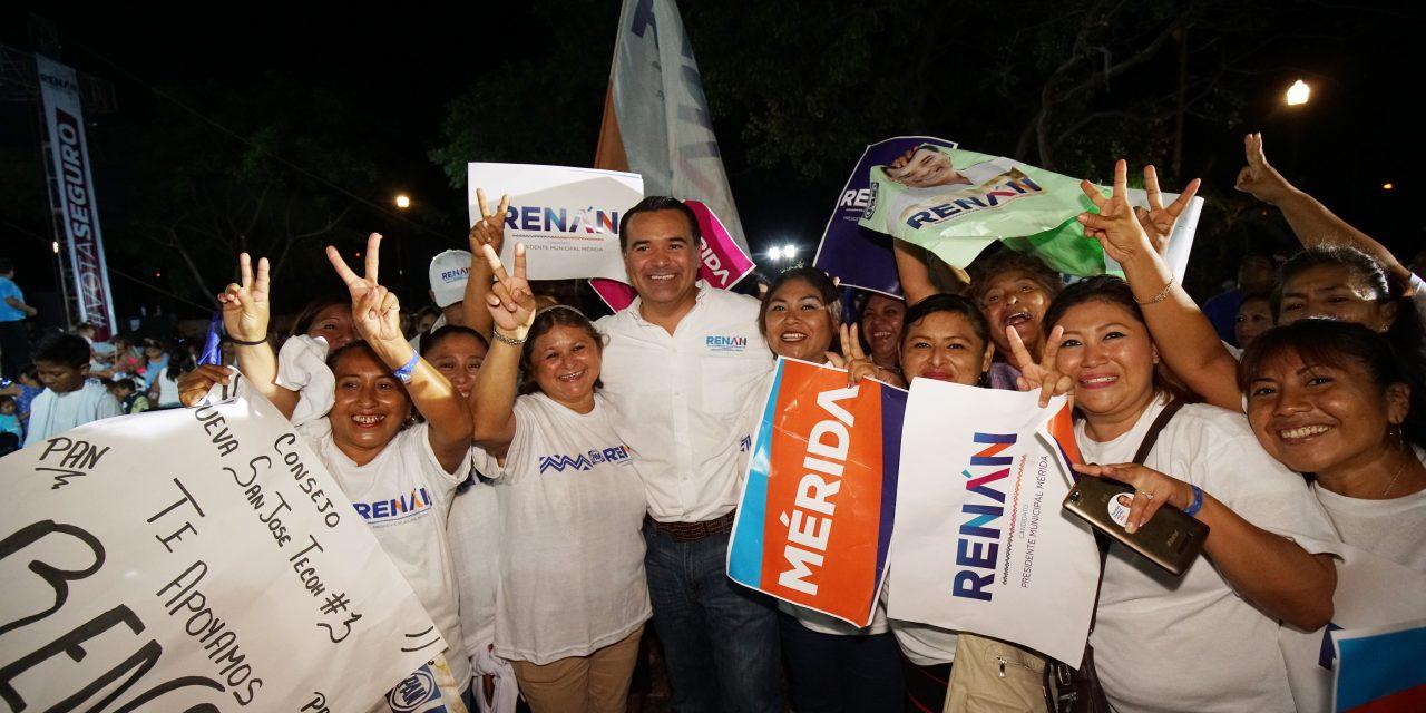 Los buenos gobiernos más cerca que nunca de volver a repetirse: Renán Barrera