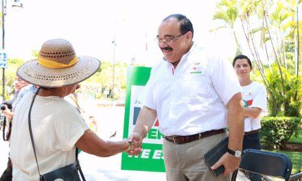 Ramírez Marín ofrece audiencias públicas en el corazón de Mérida