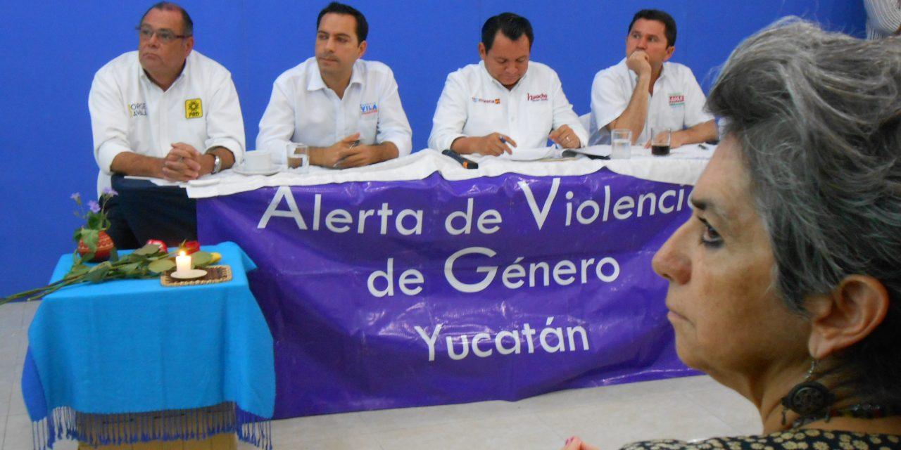 Atorada alerta de género; candidatos a favor de aborto por violación, en Yucatán