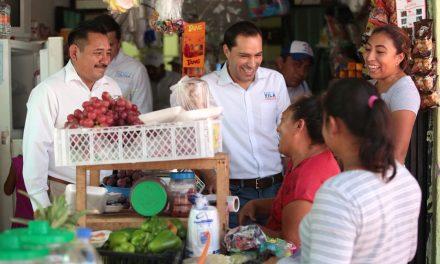 """""""Mejoraremos salarios, apoyos e igualdad de género a yucatecas"""": Vila Dosal"""