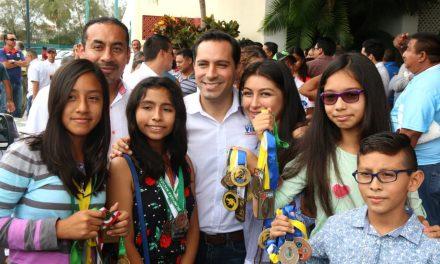 Haremos de Yucatán una potencia deportiva nacional: Vila Dosal