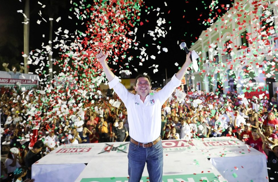 La victoria será con muchos votos: Sahuí