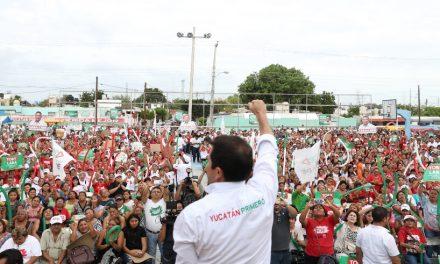 Coronemos con inobjetable triunfo esta campaña ganadora: Sahuí