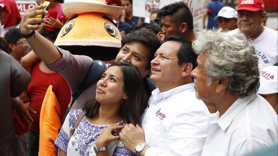 """Mérida demuestra su apoyo a """"Huacho"""""""